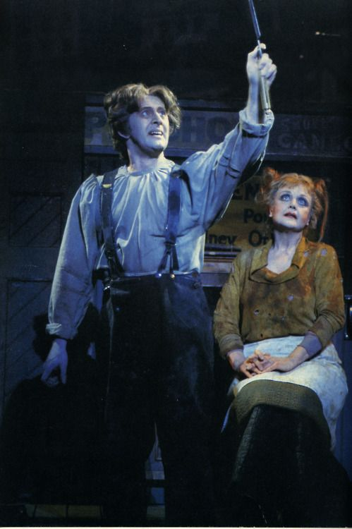 Sweeney Todd - Len Cariou and Angela Lansbury. These two are amazing on the cast recording. It's a shame the only video record  of Cariou's performance (that I know of) is an old bootleg.