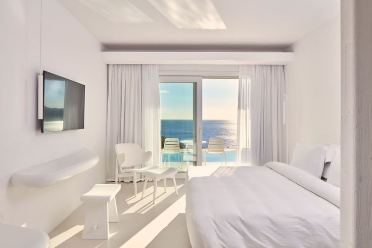 All-white elegance inspired by the radiance of Myconian light! #Experience #MyconianImperial #Accommodation