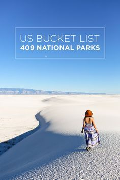 US BUCKET LIST: 409 National Parks Systems in the US - there is so much beauty…