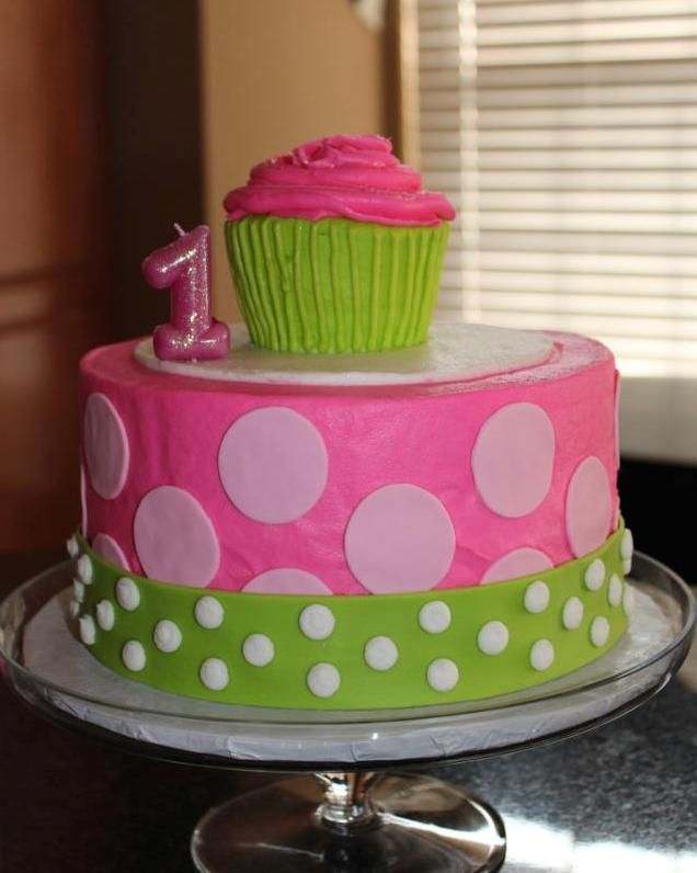18 best First Birthday Cakes images on Pinterest First anniversary