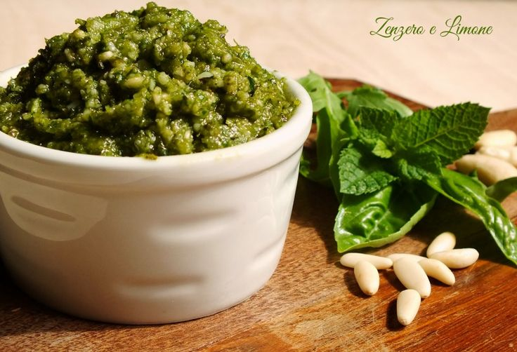 Pesto+misto+-+ricetta+semplice