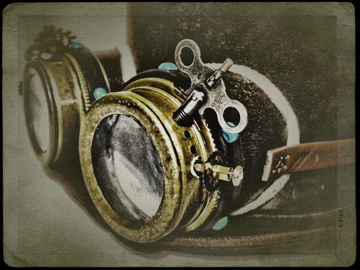 Victorian goggles