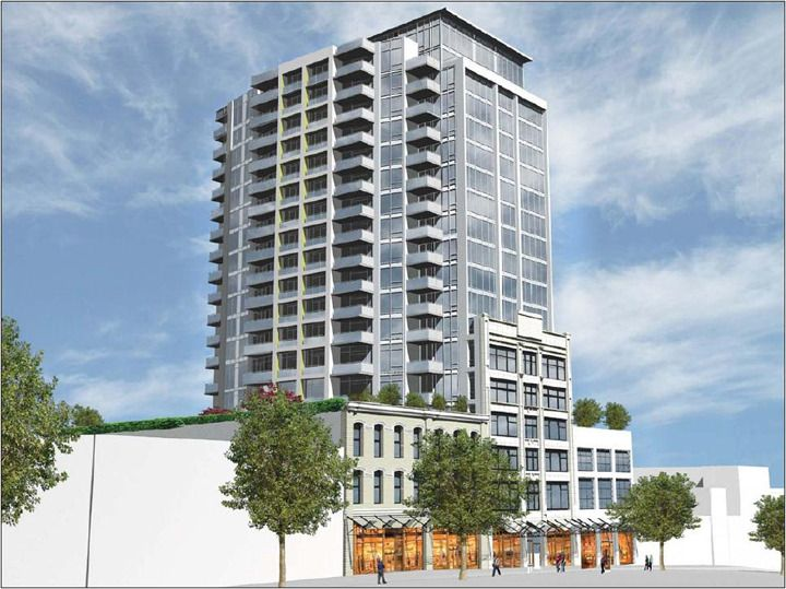 The #SalientGroup - New #condo project - The Trapp and Holbrook blocks in Downtown New Westminster
