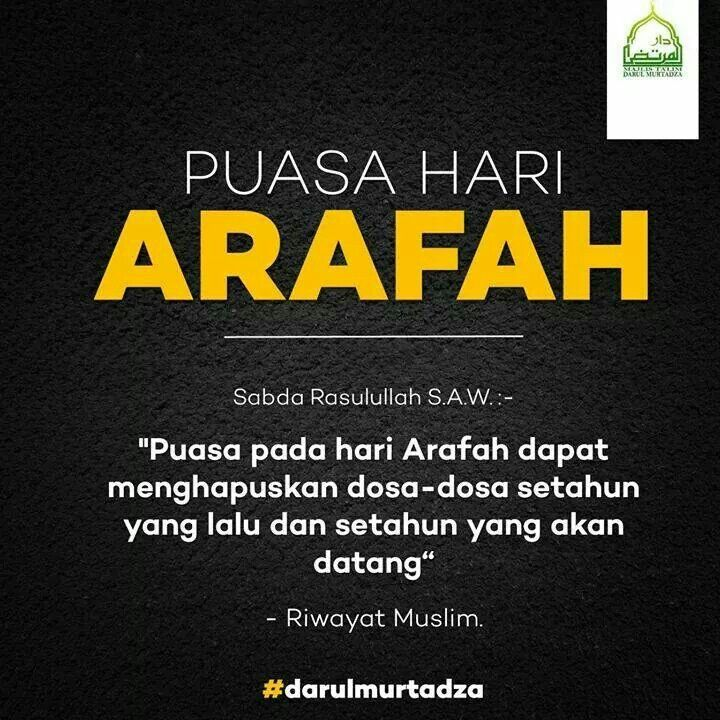 Fasting on Day of Arafah
