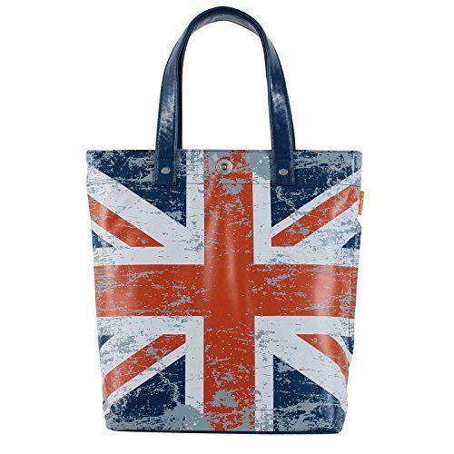 Tasche Schultertasche Handtasche Shopper Motiv Flagge England Fahne UK Veganes Leder Blau A4 Uni Style A100017, http://www.amazon.de/dp/B0114XDWR4/ref=cm_sw_r_pi_awdl_x_Z26cybJZANA6A