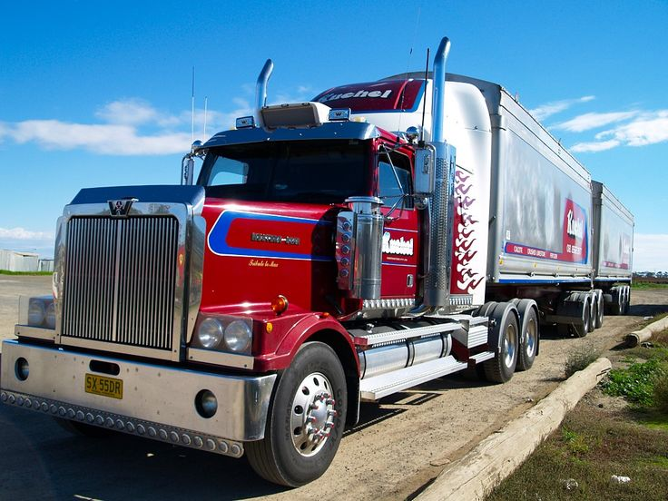 australian vehicles | An Australian Truck heading towards Melbourne This driver is passing a ...