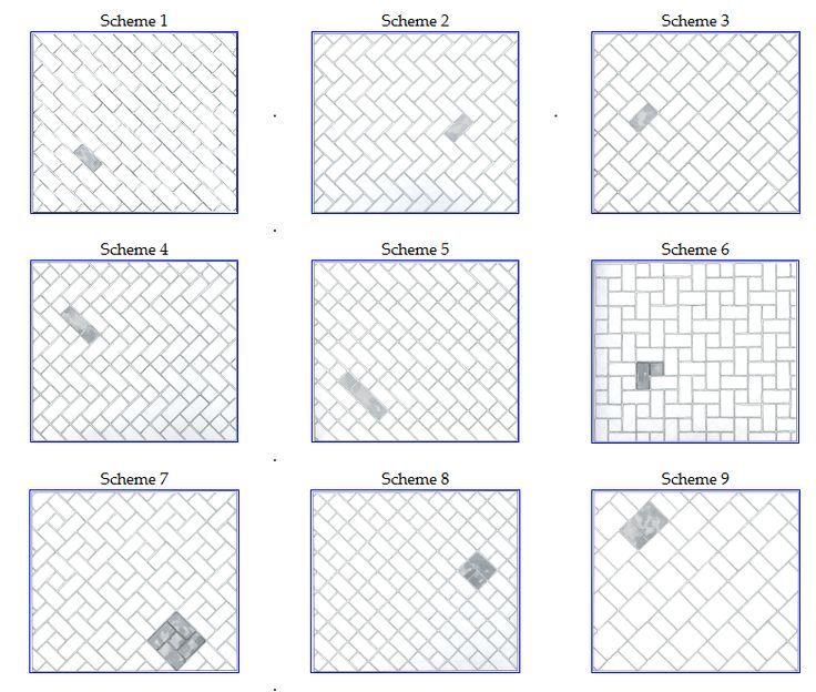 Subway Tile Backsplash Pleasing Subway Tile Backsplash Patterns Home Design Ideas