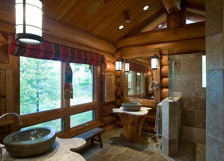 Rustic Bathroom Showers 231 best rustic bathrooms images on pinterest | rustic bathrooms