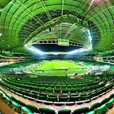 Sim, é no Brasil. Sim, é em São Paulo. Sim, é do Palmeiras. Sim, é o ALLIANZ PARQUE