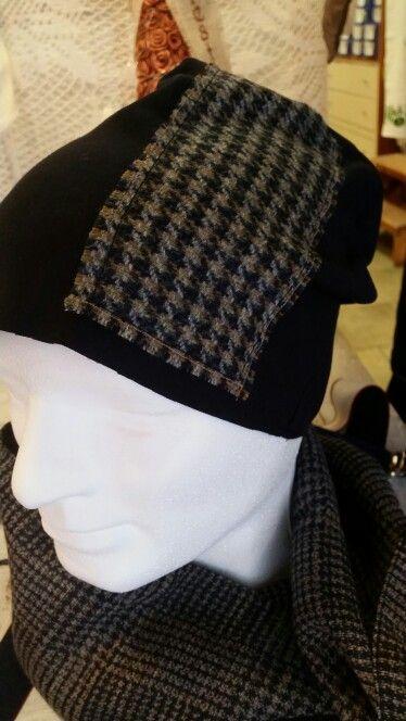 Cuffia berretta felpa uomo