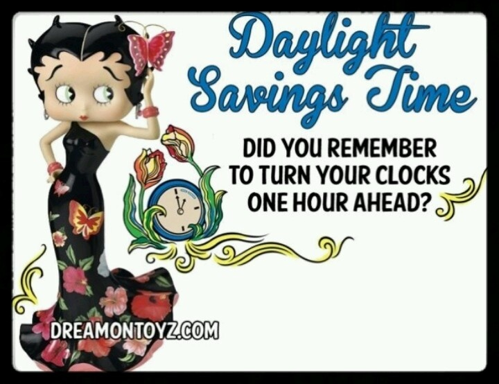 Day light saving Betty