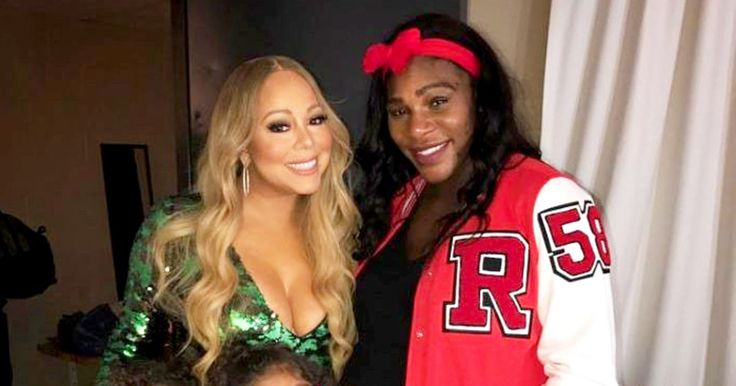 Pregnant Serena Williams Hangs Out With Mariah Carey, Her Twins - https://www.tradedivine.com/pregnant-serena-williams-hangs-out-with-mariah-carey-her-twins/