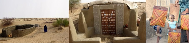 Escuela Escarabajo en el desierto (Mali) / Scarab School in the desert (Mali) - Archkids. Arquitectura para niños. Architecture for kids. Architecture for children.