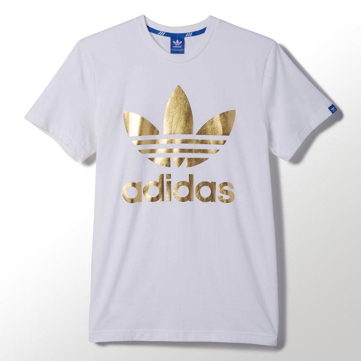 adidas t shirt mens gold