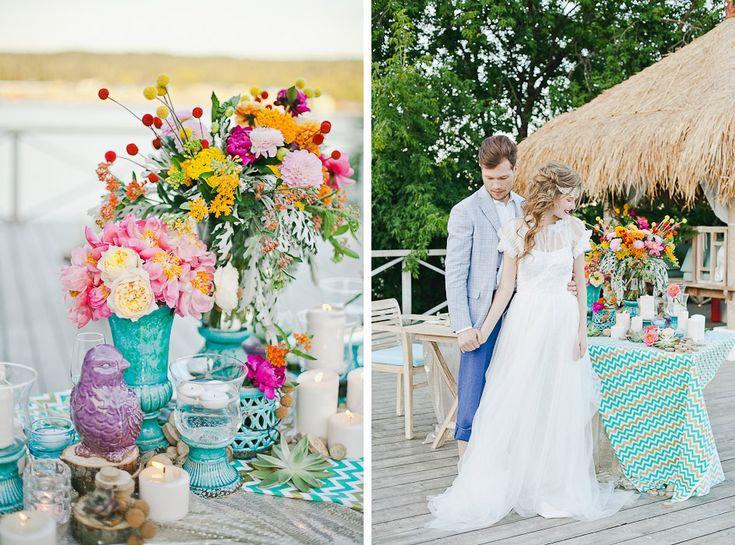 Wedding style Boho chic. Design studio - NNdecor, Muah - Sveta Mart, Photo - Yana Yartseva