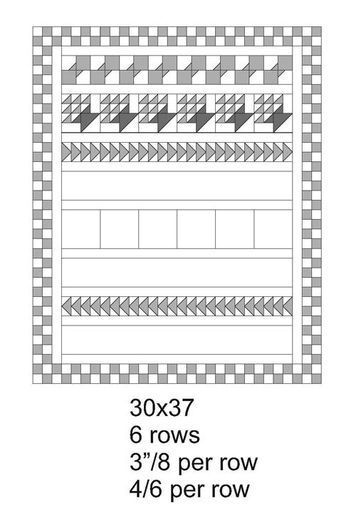 QM Bitty Blocks: The Row Quilts - various layouts for b\Bitty Block quilts