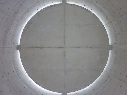 SATURDAY SPECIAL  Meditation Space - UNESCO, Tadao Ando, Paris, France    Chaque instant de chaque jour byDalida