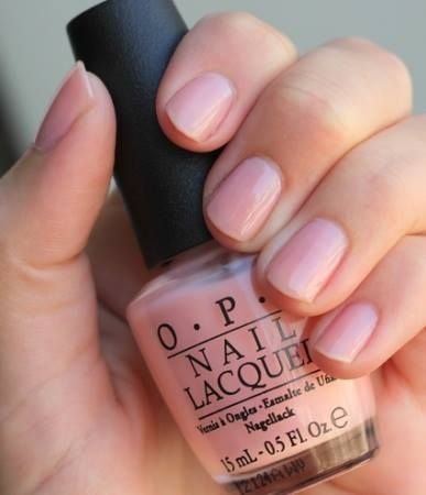 OPI Passion -for a clean, polished look like a princess'
