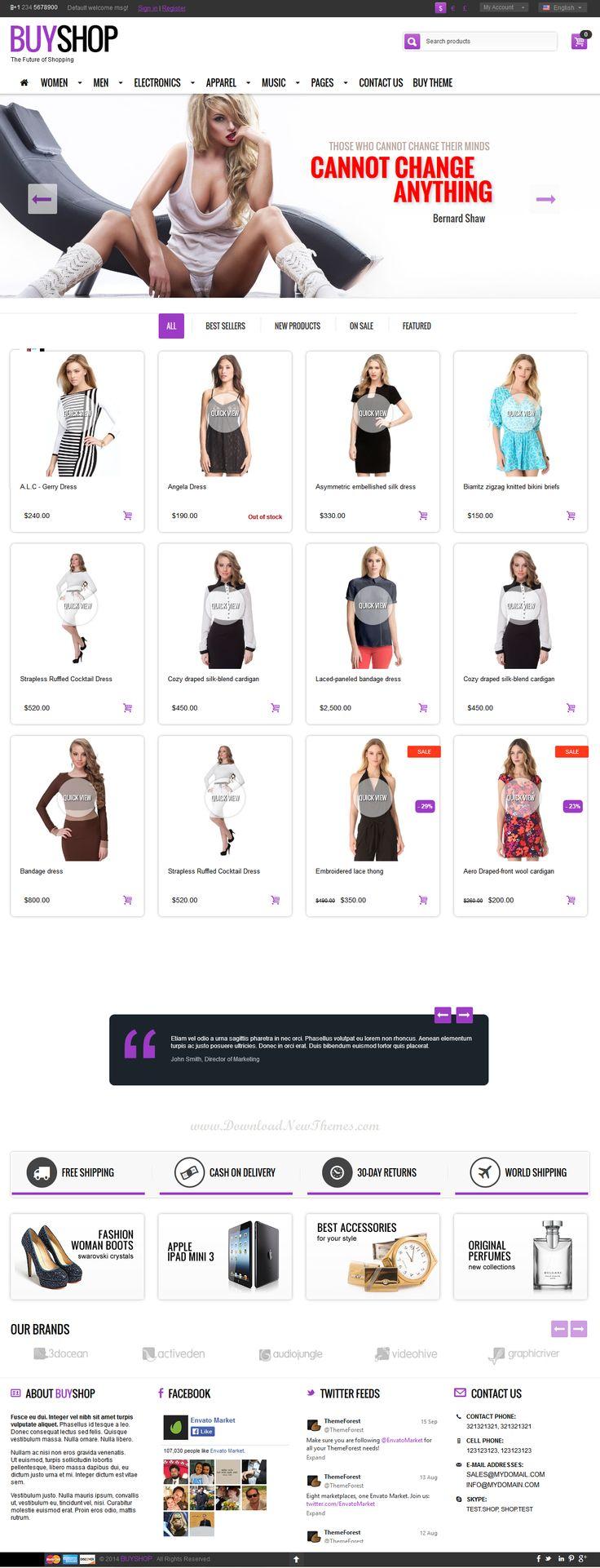 10+ #CS-Cart Theme for Well Designed #eCommerce #Website