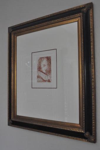 Salvador Dali - self portrait etching