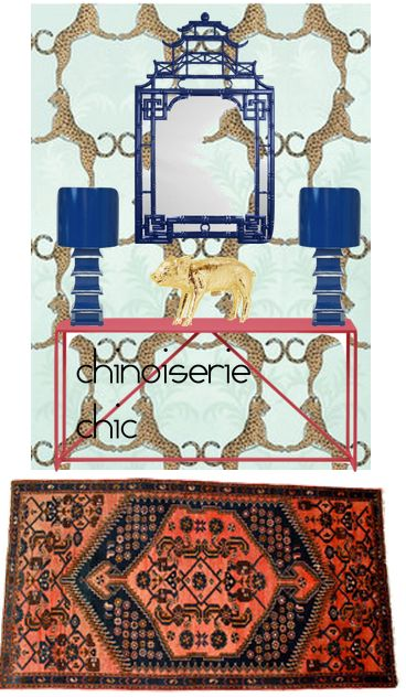Chinoiserie Chic: The Chinoiserie Entryway Two Ways