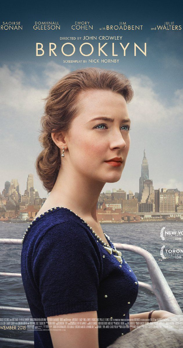 An Irish immigrant lands in 1950s Brooklyn, where she quickly falls into a new romance. When her past catches up with her, however, she must choose between two countries and the lives that exist within.