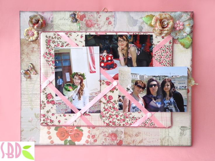 Sweet Bio design: Bacheca Porta Foto Shabby Chic - Shabby Chic Showcase photo holder