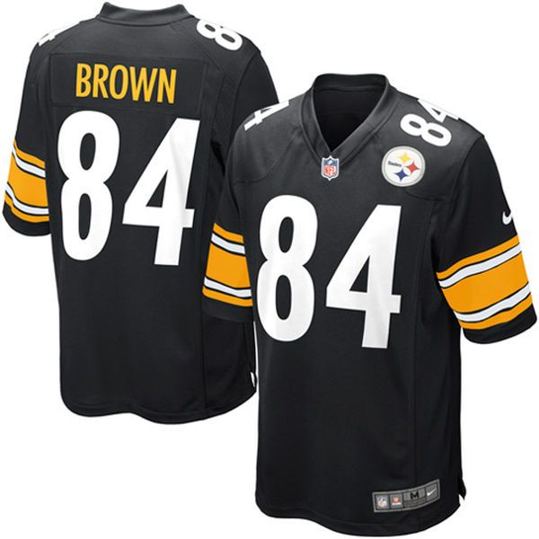 Antonio Brown Pittsburgh Steelers Nike Youth Team Color Game Jersey - Black - $74.99