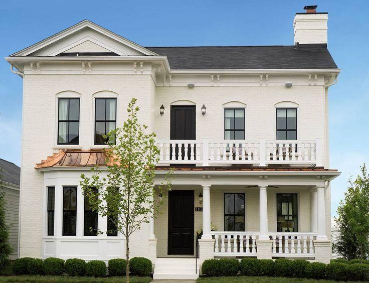 Pin by gigi on beautiful houses white exterior paint - Beautiful exterior house paint colors ...