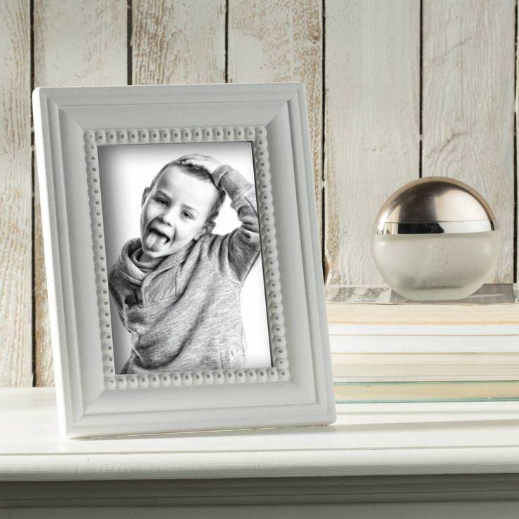 #ramka #photo #picture #frames #family #decoration #home #dekoracje Ramka Coline 20,5x1,5x25,5cm white, 20,5x1,5x25,5cm - Dekoria