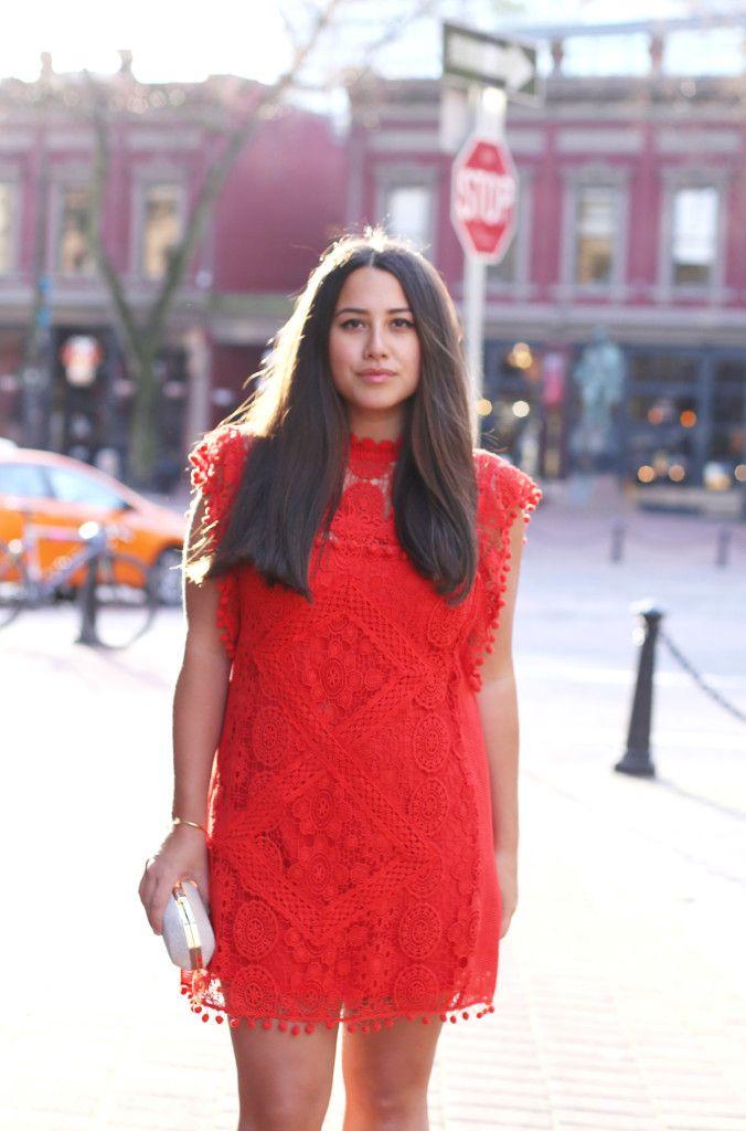 revolve clothing, alicia fashionista, vancouver fashion blog, tularose clayton tunic, red dress for wedding, vancouver street style