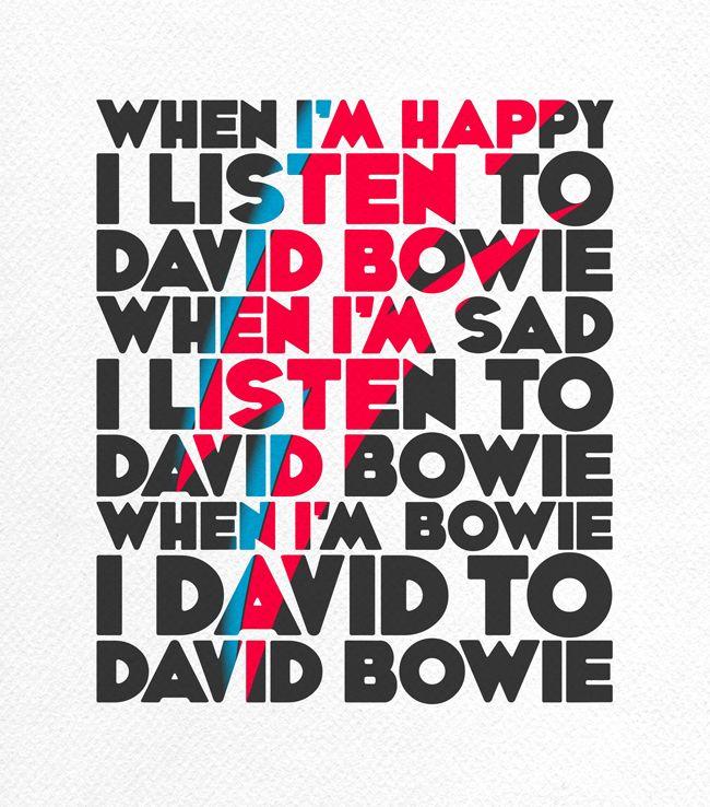 Jamie Gandee: BAVID DOWIE DABID TRAMPAMPOLINE!!!!! Ok Breathe. David Bowie.
