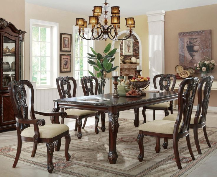 dining alexander pc alexander edges dining solid wood dining table