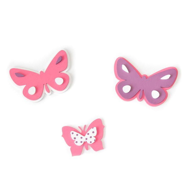 zestawy ozdób dla dzieci  #ozdoby #motylki www.firstdecor.pl