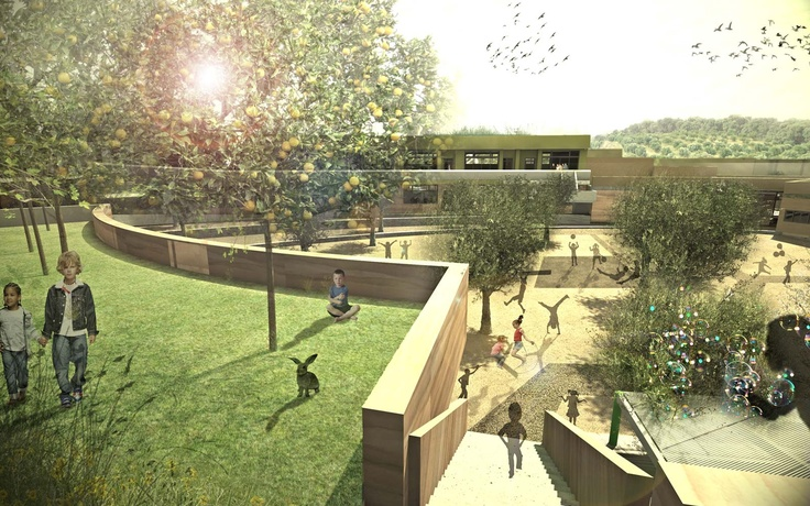 Innovative Bioclimatic European School Complex, International Competition