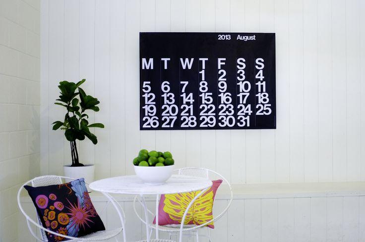 Stendig calendar Australia via The Lovely Bird online shop
