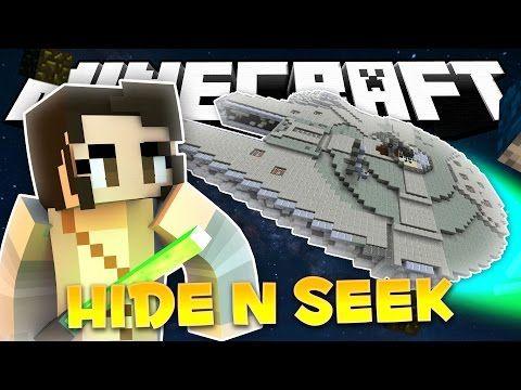 DARTH DARTH BINKS! (Minecraft Star Wars Hide and Seek Minigame!)