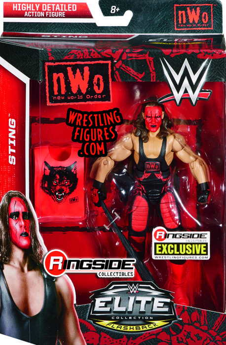"""Sting (NWO Wolfpac)"" - Ringside Collectibles Exclusive WWE Toy Wrestling Action Figure by Mattel!"