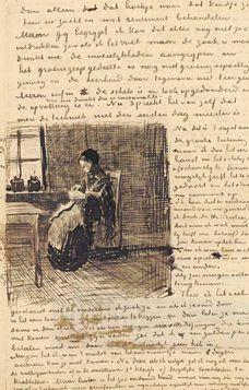 Letters written by Van Gogh