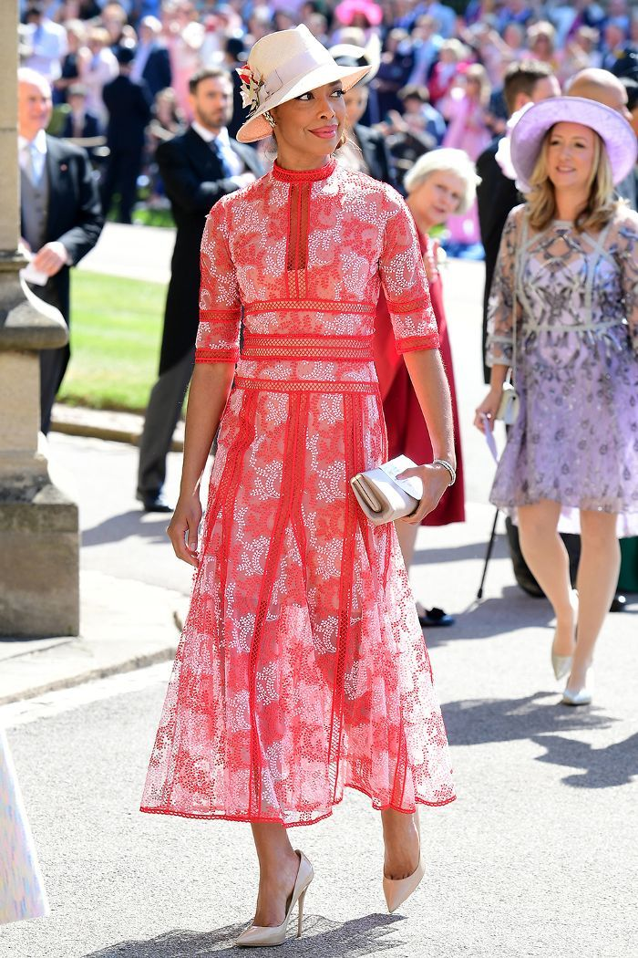 72007ec36ca All of the Guest Outfits You HAVE to See From Meghan and Harry s Wedding  via  WhoWhatWearUK