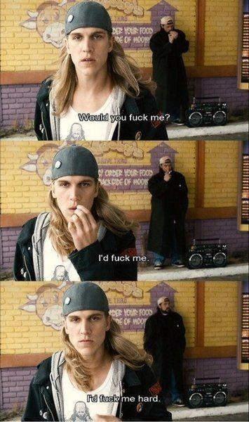 Jay and Silent Bob one of my favorite & least favorite scenes.....it gets stuck in my head.....OH!