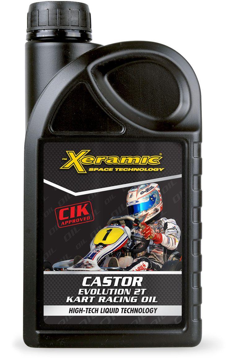 Το λάδι για κινητήρες καρτ της PM XERAMIC® CASTOR EVOLUTION 2T KART RACING OIL είναι ένα εξελιγμένο τεχνολογικά λιπαντικό για αγωνιστική χρήση 2χρονων κινητήρων. Το προϊόν αυτό έχει σχεδιαστεί αποκλειστικά για χρήση αγωνιστικών κινητήρων, αποδίδοντας το μέγιστο δυνατό κάτω από μεγάλες θερμοκρασίες και διατηρώντας τον κινητήρα καθαρό.