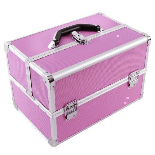 Oferta: 28.95€ Dto: -15%. Comprar Ofertas de Songmics Maletin para maquillaje alu maletín organizador rosa JBC227 barato. ¡Mira las ofertas!