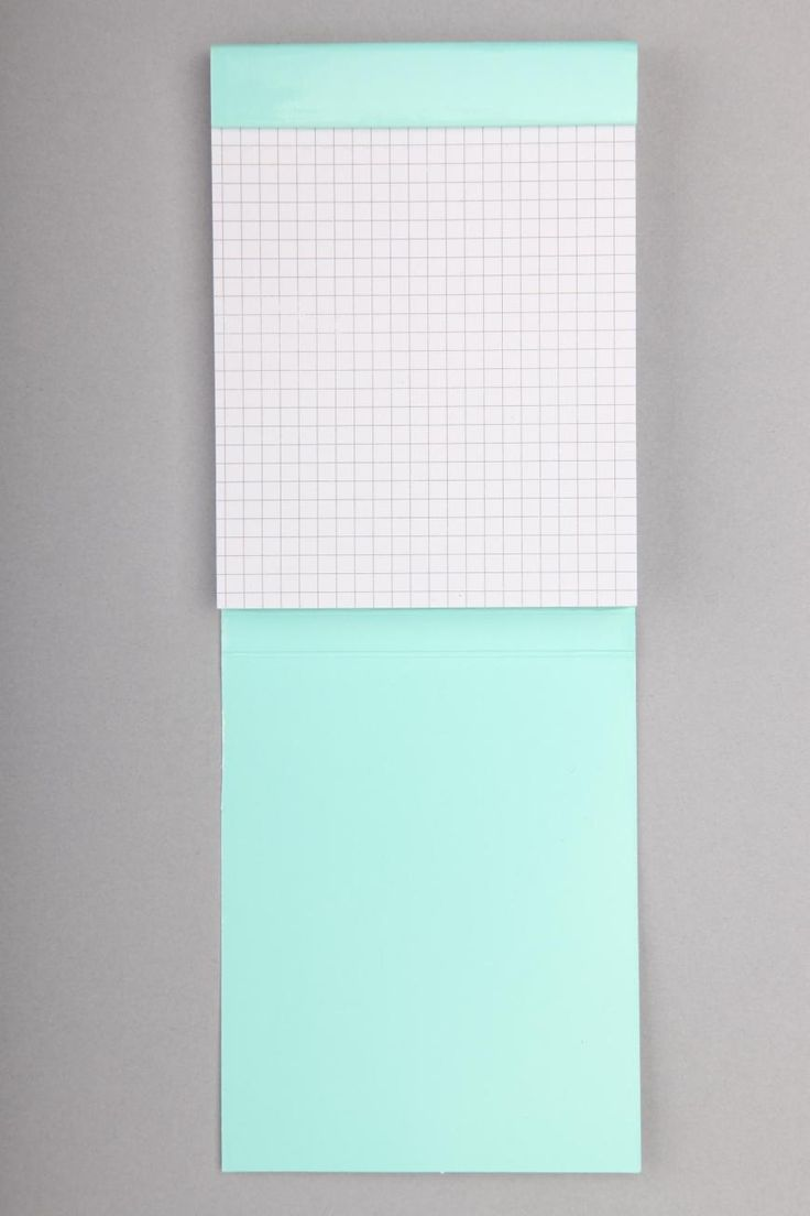 Turquoise Graph Paper Notebook