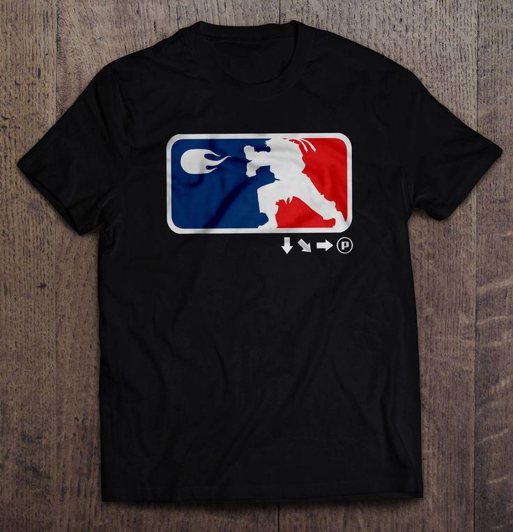 Street Fighter - Major League Fighter T Shirt