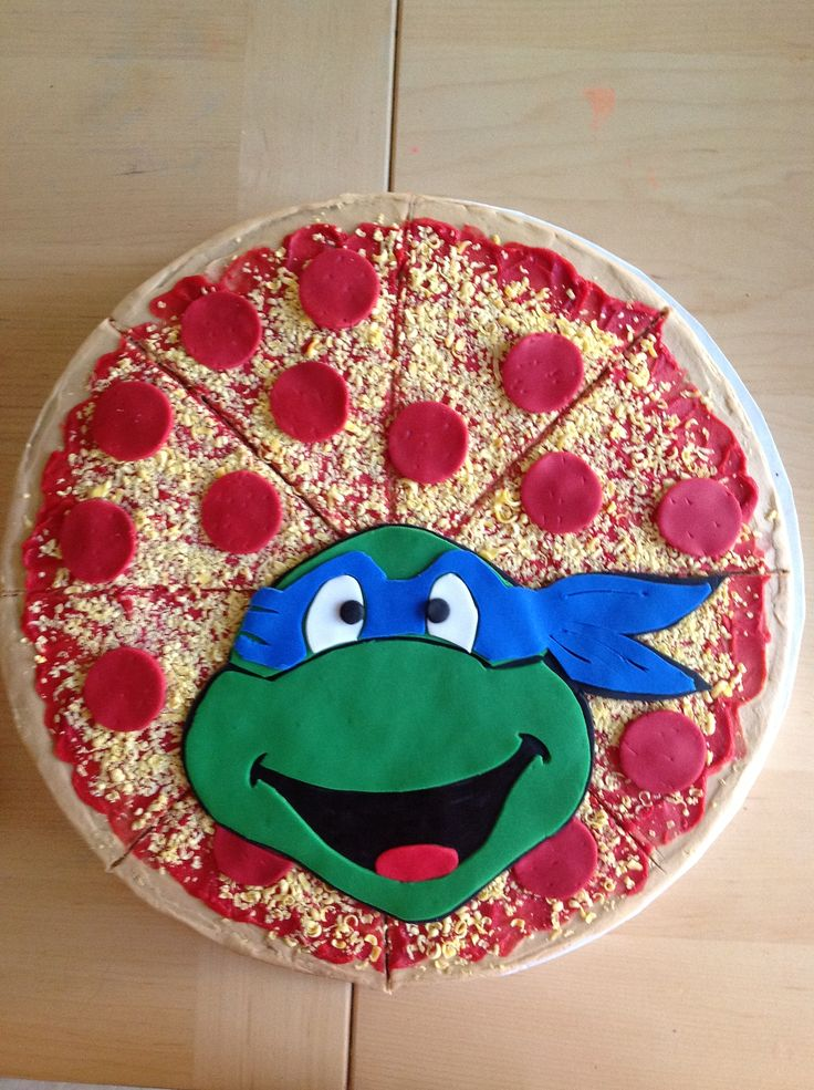 48 best Teenage Mutant Ninja Turtle Cake Ideas images on Pinterest