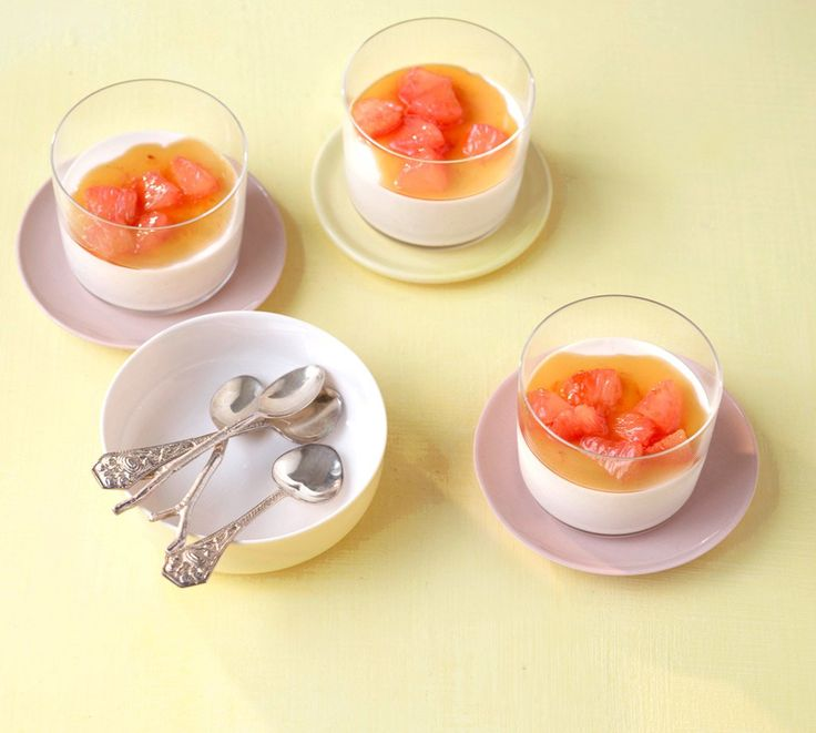 Grapefruit-Zimt-Panna-Cotta