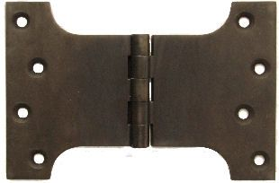 Large Solid Brass Parliament Hinges