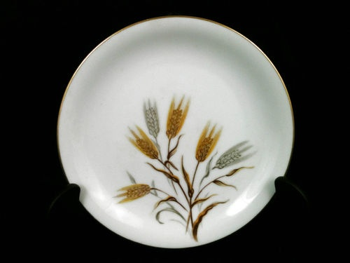 Noritake Wheaton Gold Silver Wheat Bread Butter Plate 6 1/4  Pattern 5414 & 154 best Collectible Dinnerware images on Pinterest | Cutlery ...