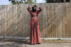 Saima Chowdhury - Inayah Collection Tan Jumpsuit - TAN
